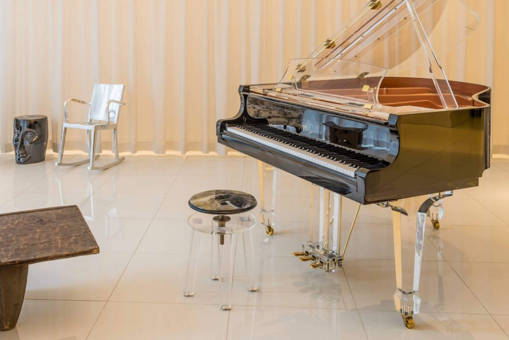 The Aire – New Transparent Piano by Euro Pianos