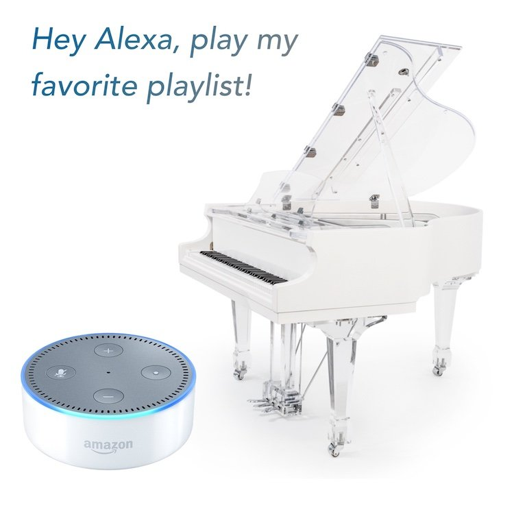 Alexa play my piano