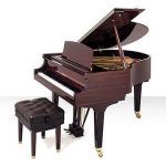 Baldwin baby grand piano