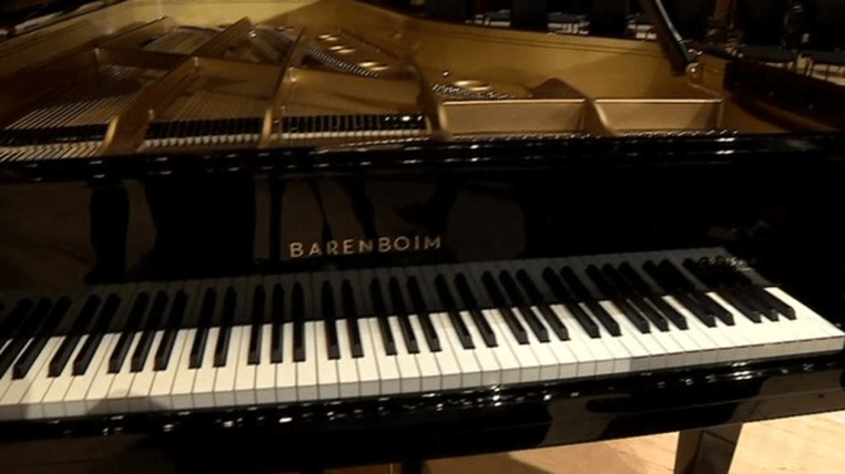 The Barenboim Piano