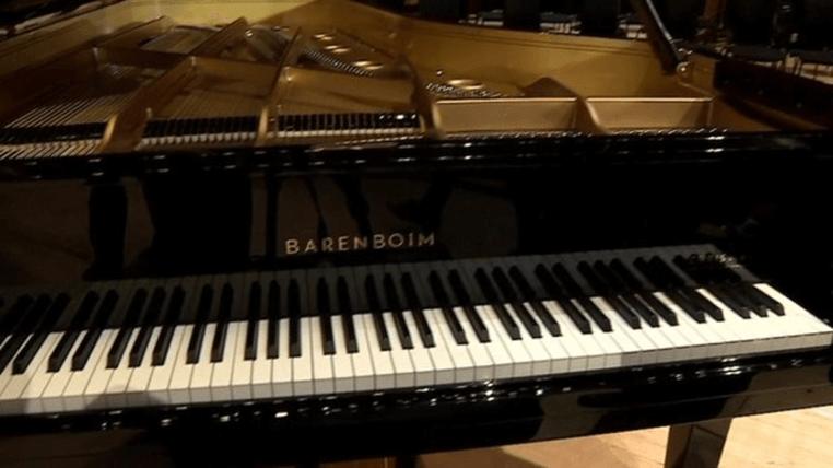 Barenboim modern Grand Piano