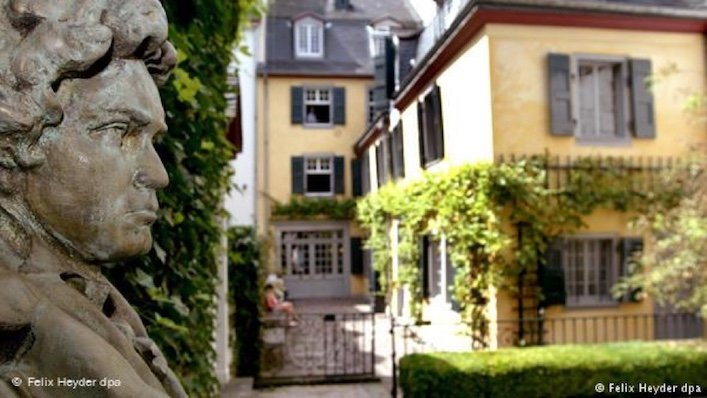 The Beethoven Archive and the composer's birth house are located in Bonn