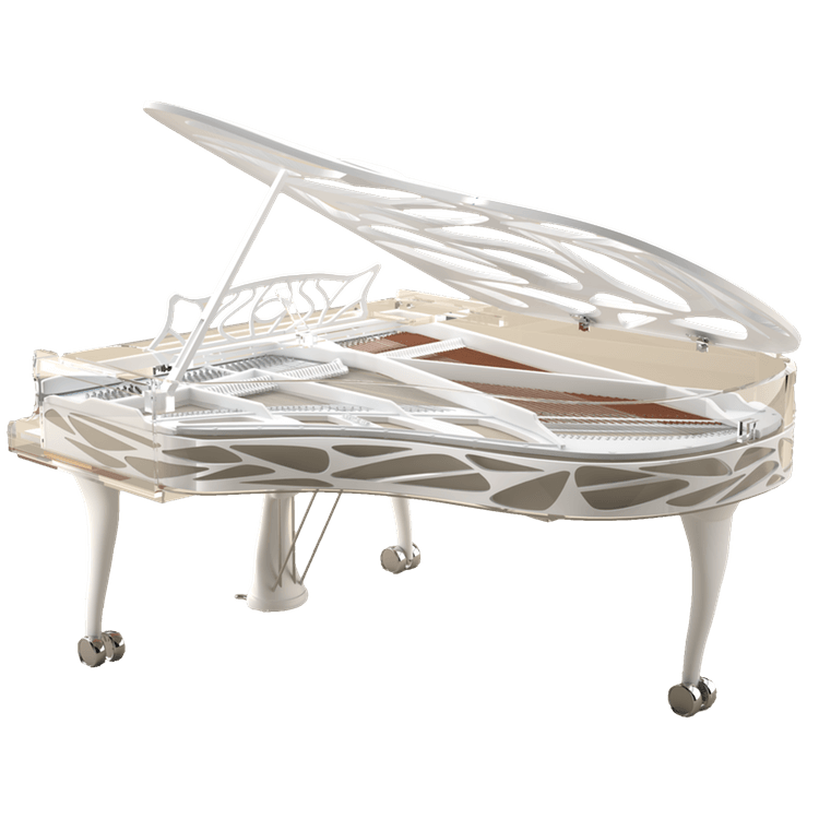 Bluthner LUCID acrylic piano Hive