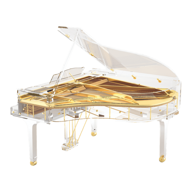 Bluthner clear piano