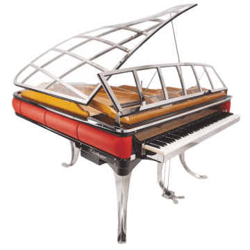 Bluthner model PH grand piano