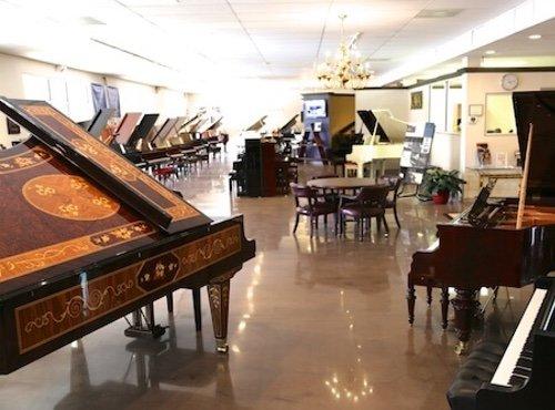 Euro Pianos Showroom