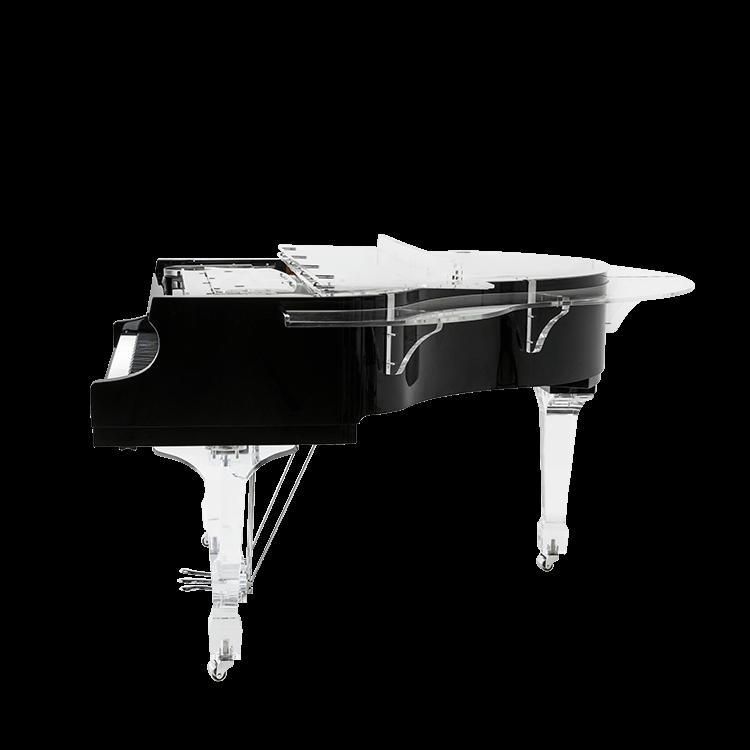 semi acrylic piano
