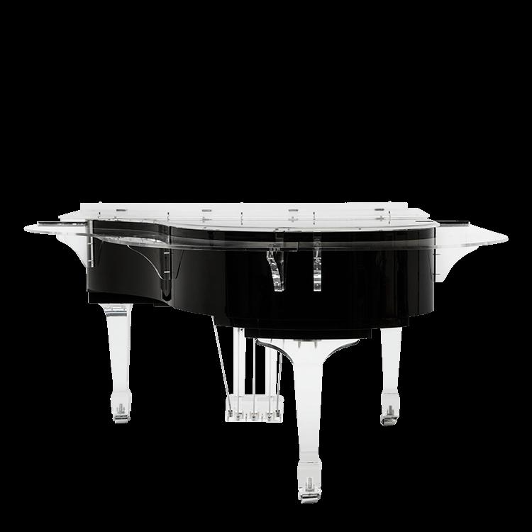 Acrylic piano bar