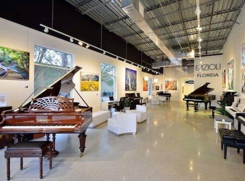 Euro Pianos Naples new showroom