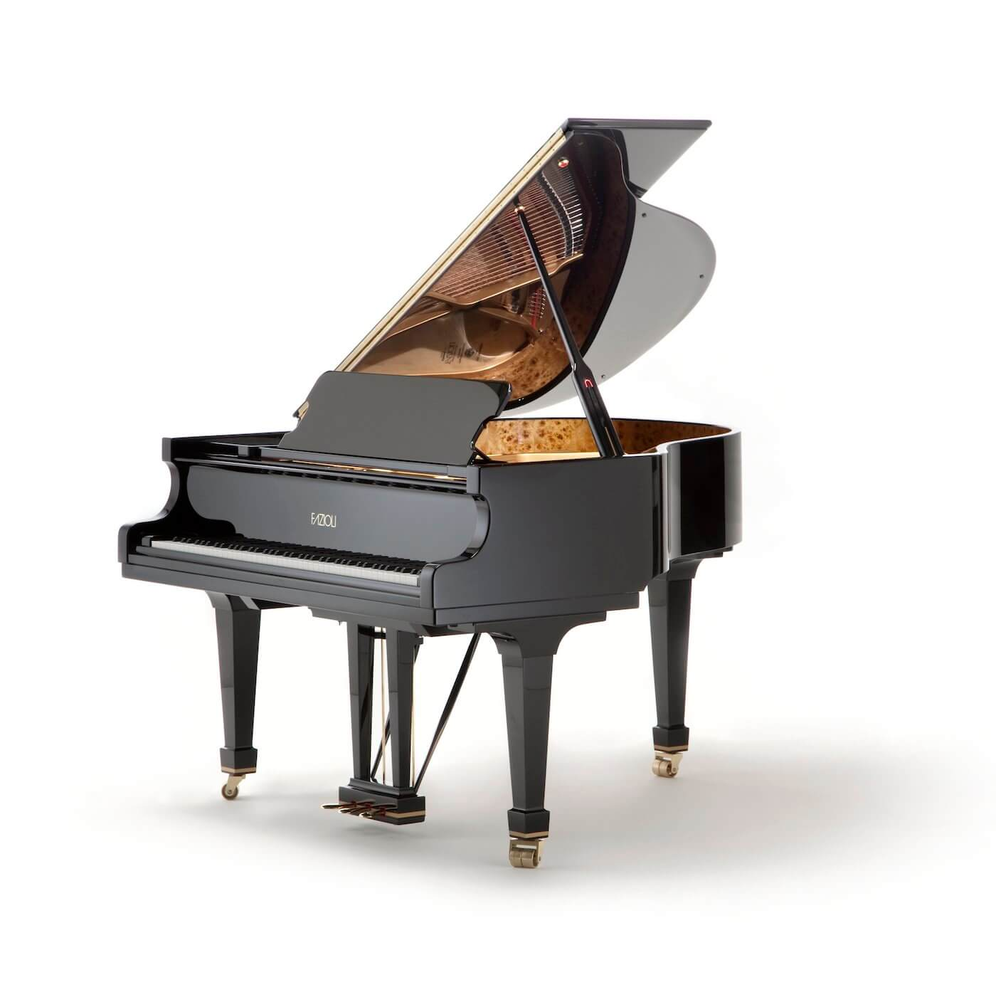 small Fazioli baby grand piano