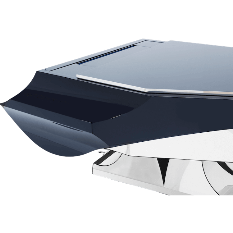 Fazioli Aria Piano with metal trim