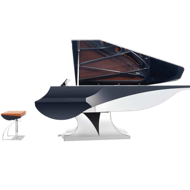 Uber Modern Fazioli Aria Grand Piano Info And Prices Euro Pianos