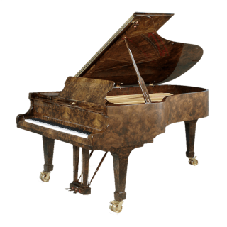 Fazioli Walnut finish piano