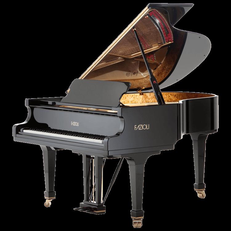 Fazioli model F183 traditional grand piano