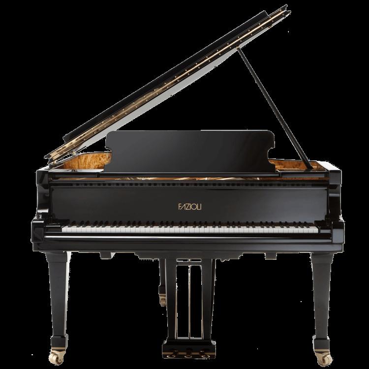 Fazioli F183 back grand piano