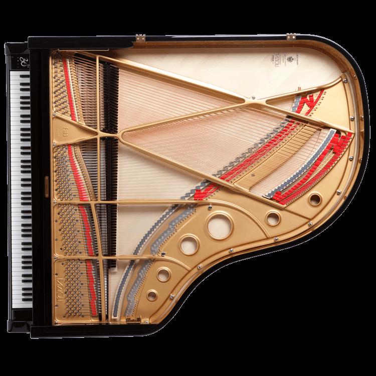 Fazioli F183 piano inside