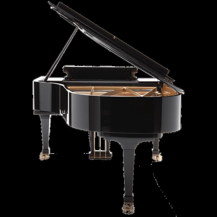 Fazioli F212 grand piano back view