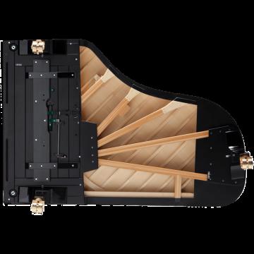 Fazioli F212 piano rib