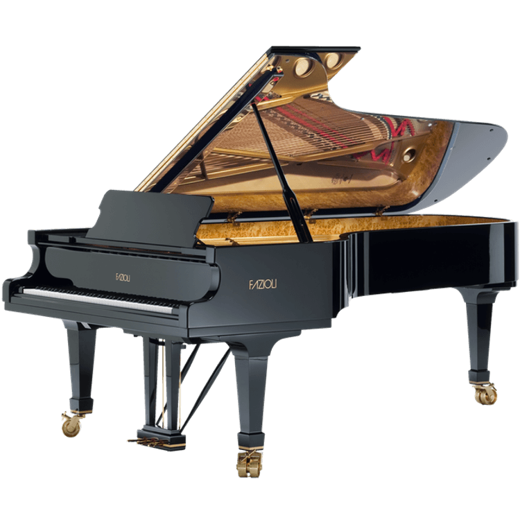 Fazioli model F278 full size concert grand piano