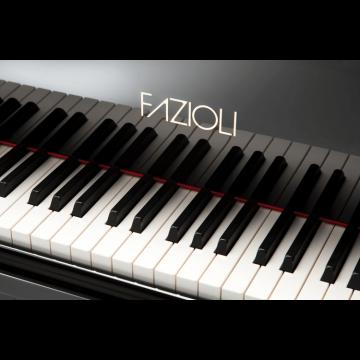 Fazioli piano keys
