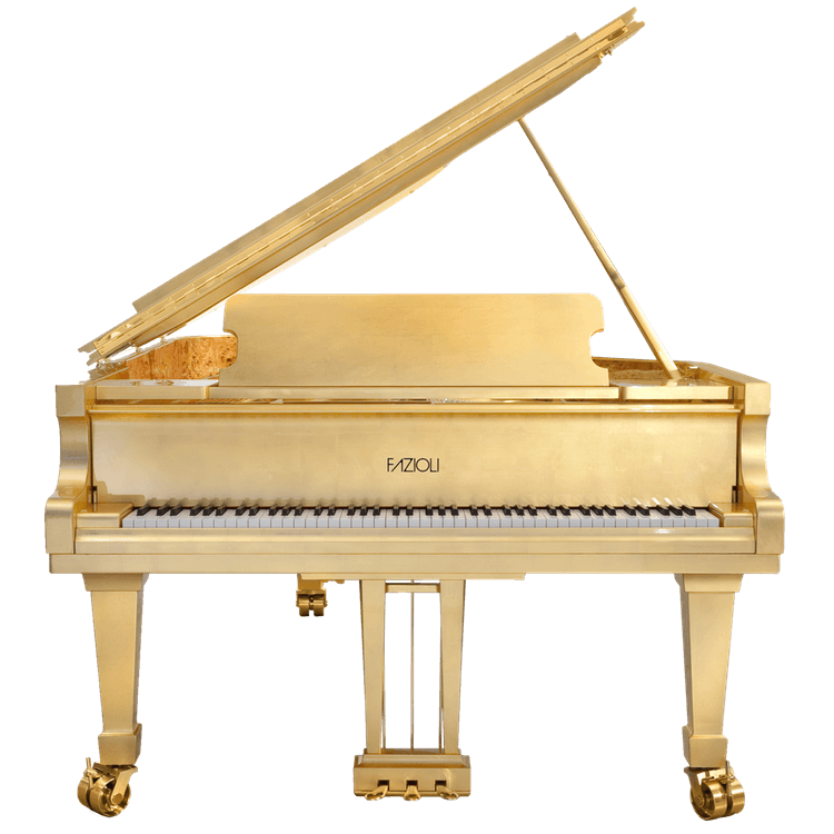 Fazioli Gold Leaf 24K Piano