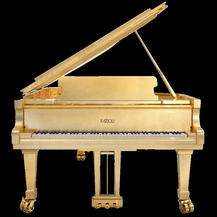Fazioli Gold Leaf 24K Piano