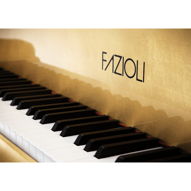 Fazioli Gold Leaf Piano logo