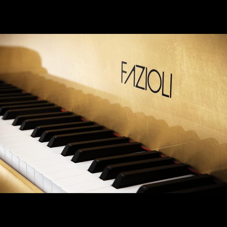 Fazioli Gold Leaf Piano logo