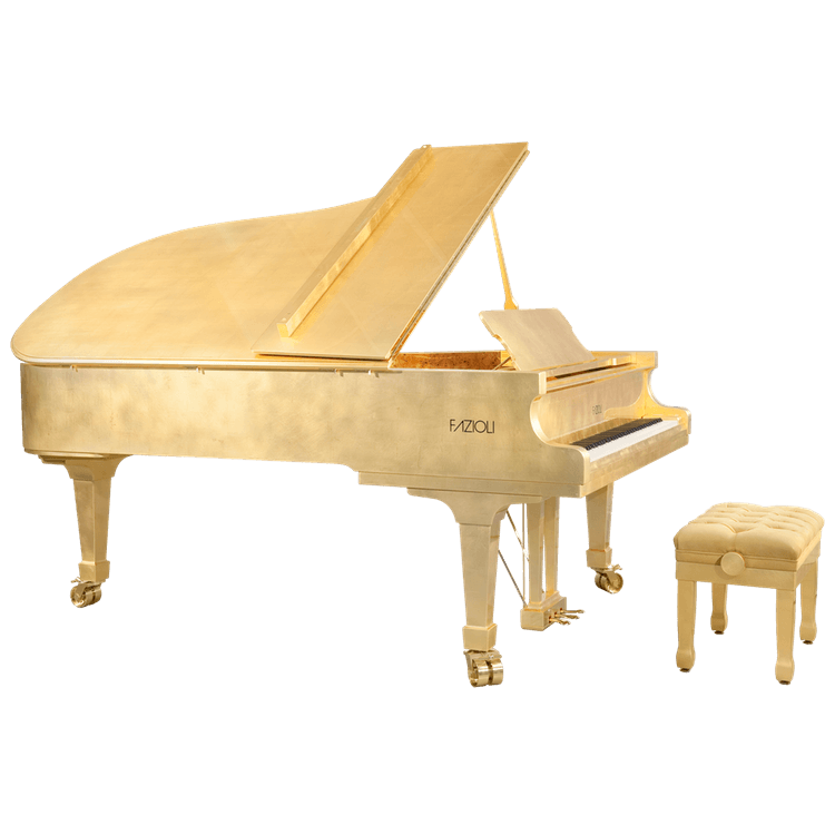 Fazioli Gold Leaf Luxury Piano