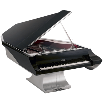 Fazioli M Liminal grand piano for a yacht