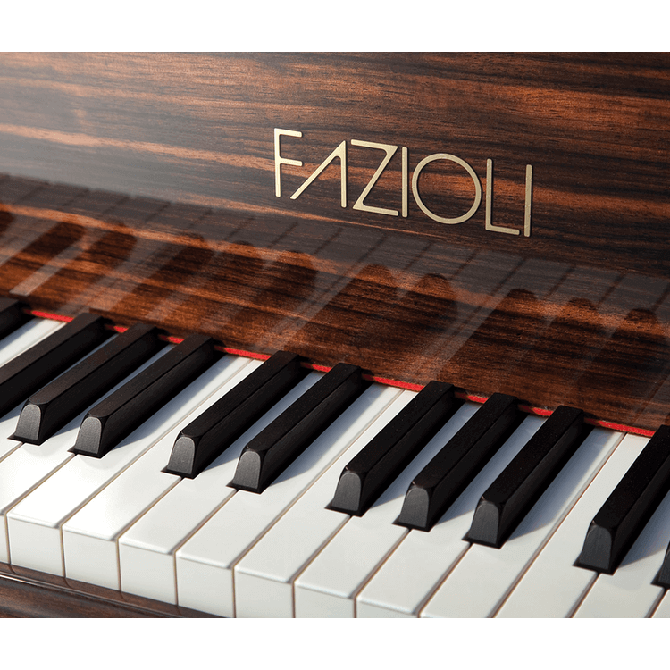 Exotic Wood Finish Pianos made by Fazioli
