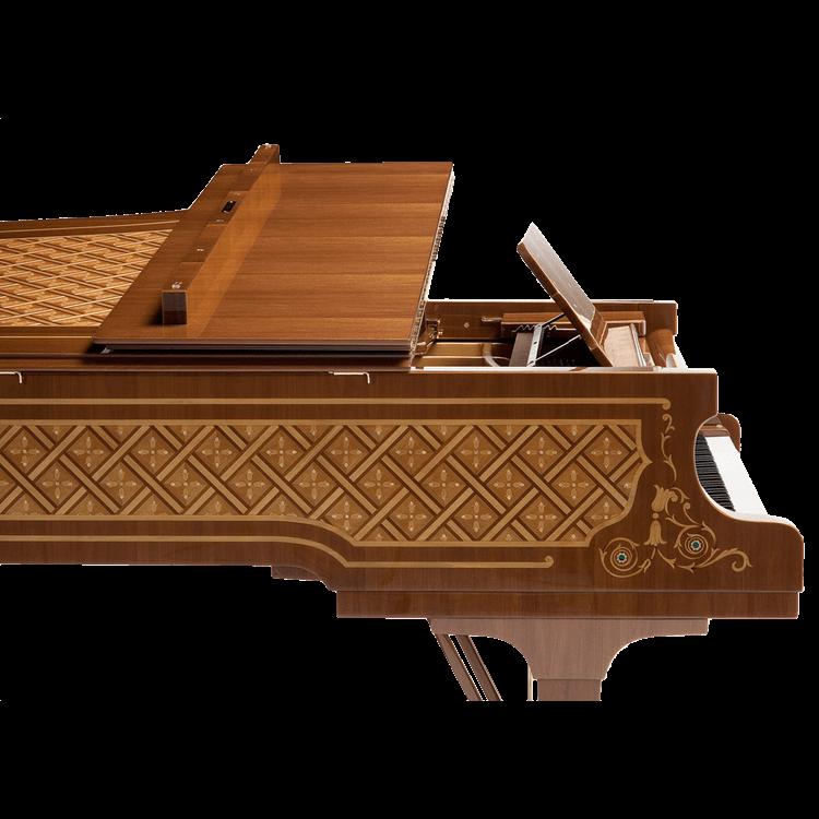 Fazioli Malachite inlaid piano