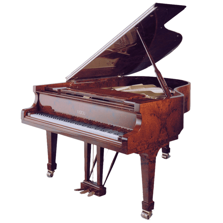 Fazioli piano in Amboina finish