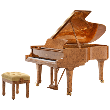 Fazioli Poplar Brier grand piano