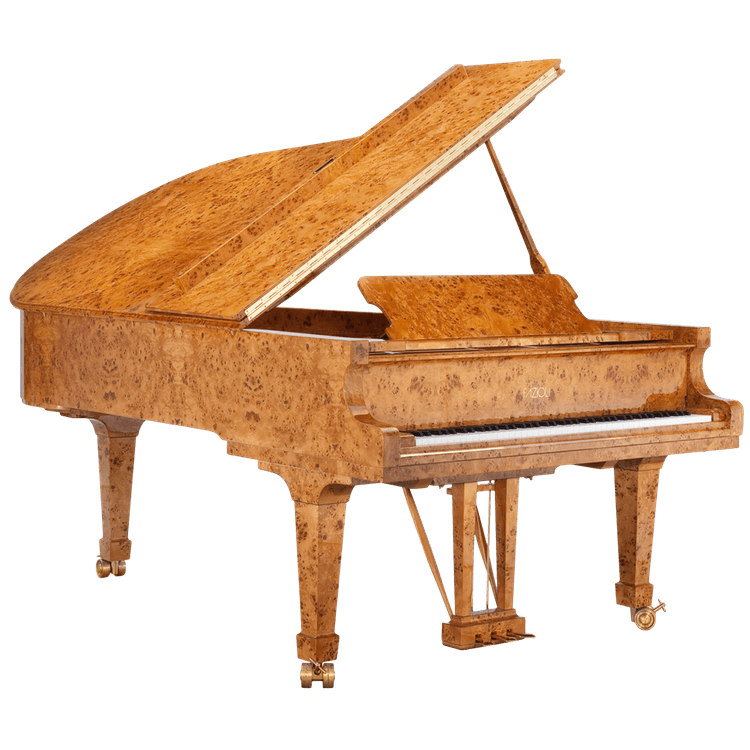 Fazioli Poplar Brier piano finish
