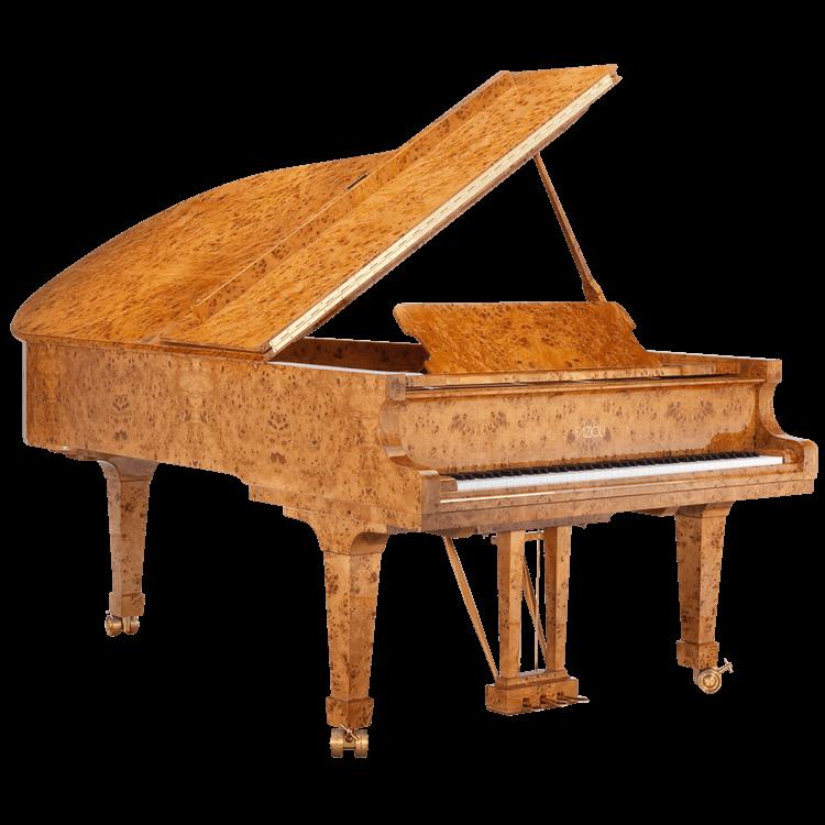 Fazioli Poplar Brier piano finish