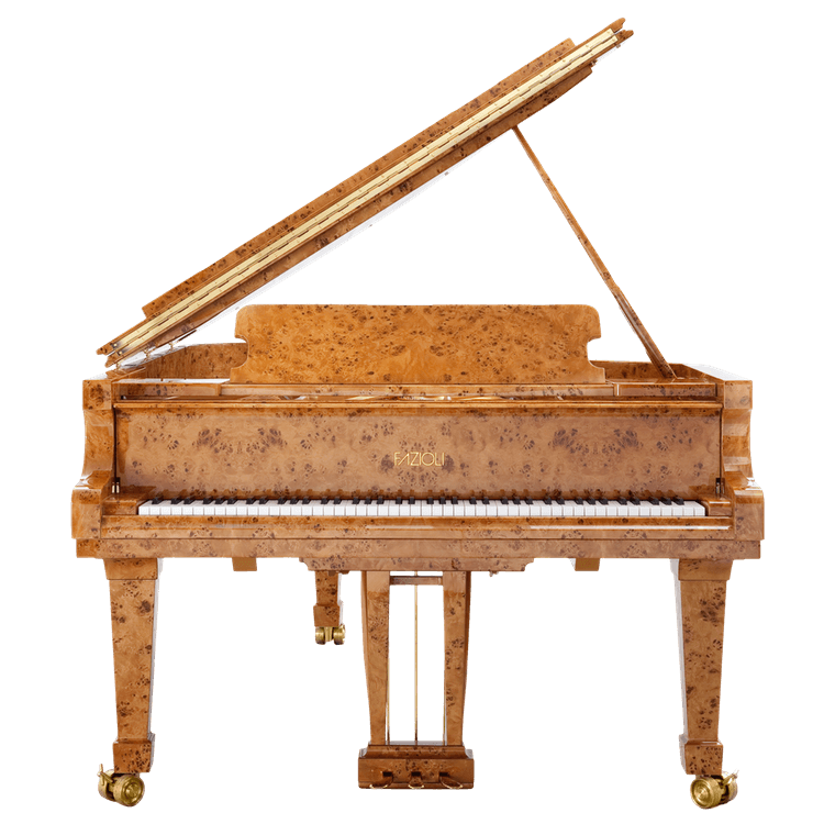 Fazioli Poplar Brier exotic wood piano