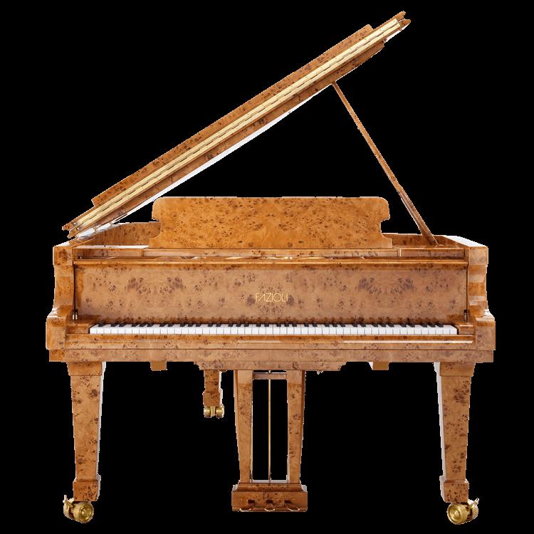 Fazioli Poplar Brier exotic wood piano