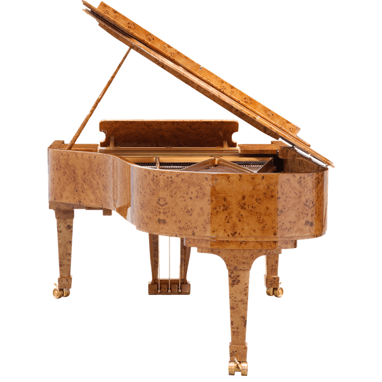 Fazioli Poplar Brier piano tail
