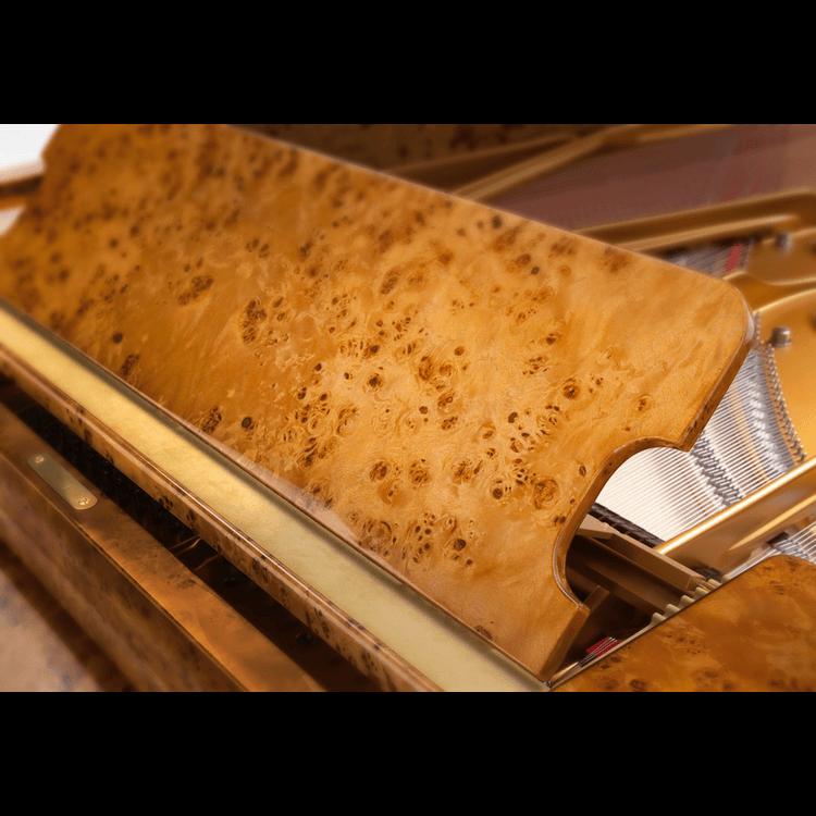 Fazioli Poplar Brier grand piano finish