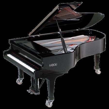 Fazioli Silver grand piano