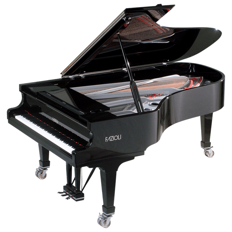 Fazioli Silver Grand Piano for sale