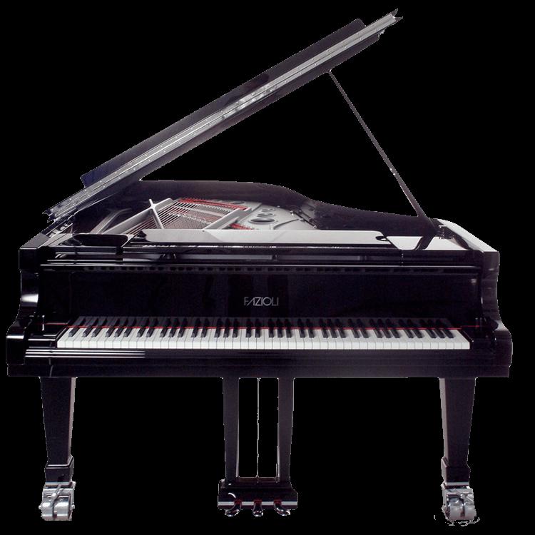 Fazioli grand piano - Silver model