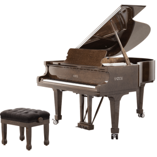 Fazioli Tamo Burl grand piano