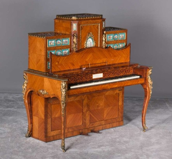 French style upright piano