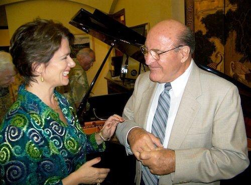Soprana Steffanie Pearce with  Gunter Manchen