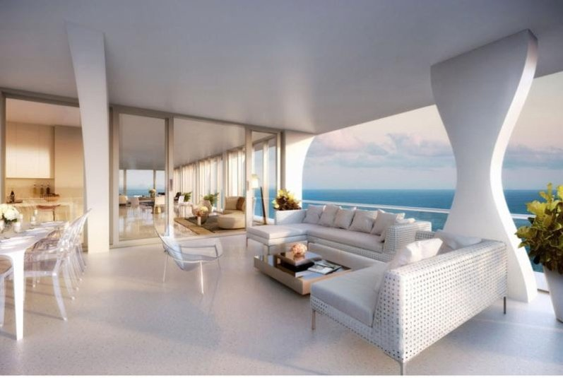 Miami penthouse interior design