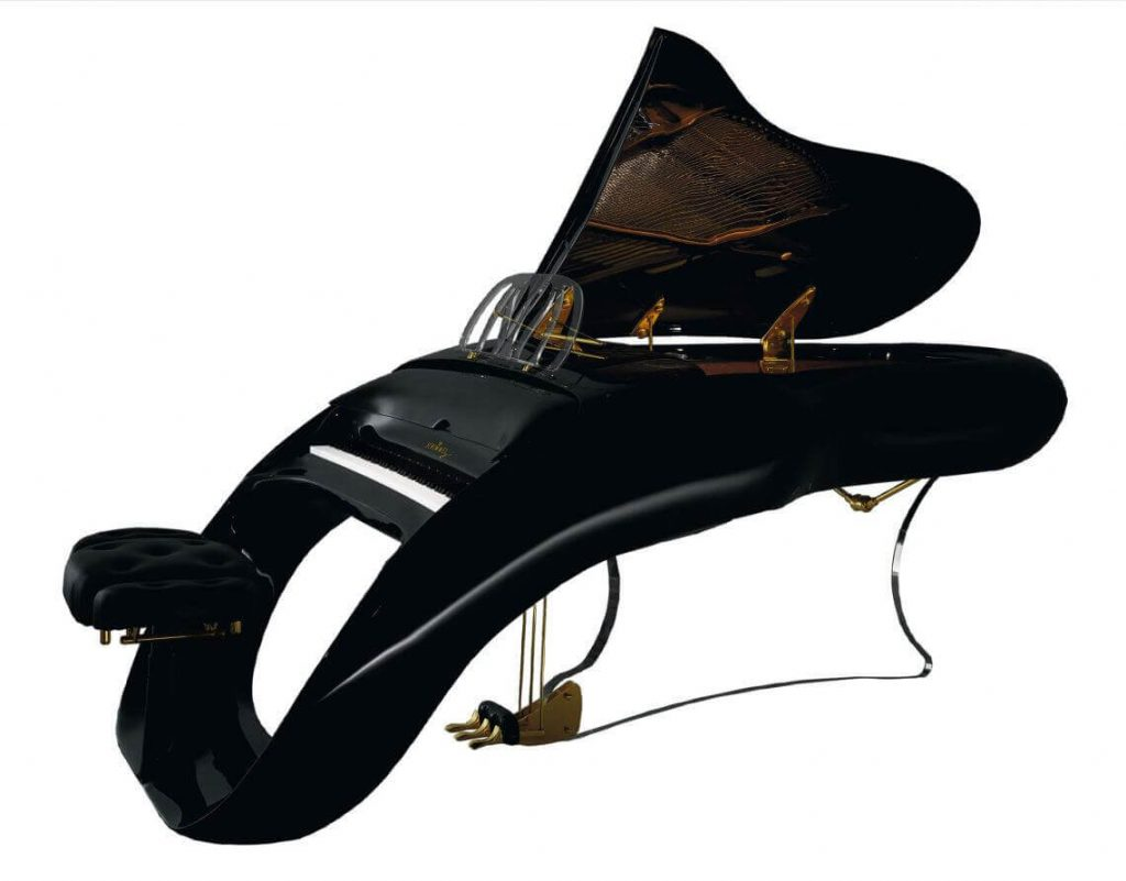 Modern Piano for yacht