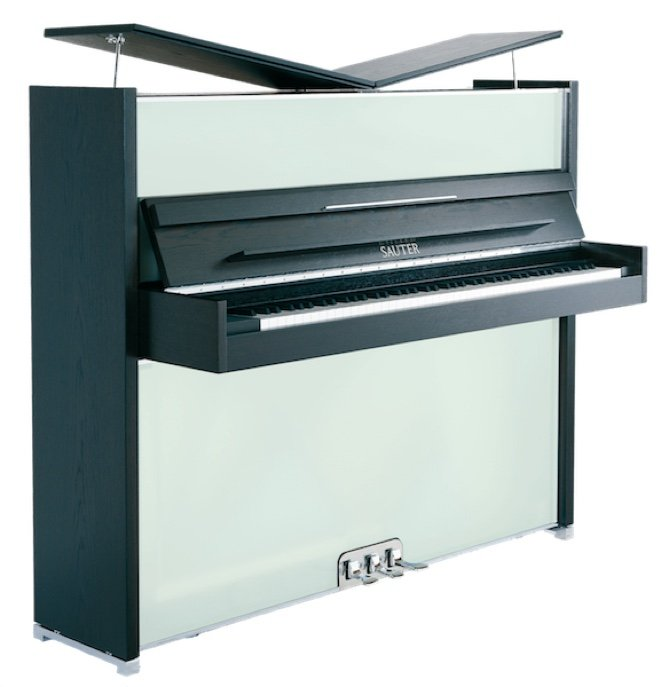 Sauter Vitrea Upright Piano