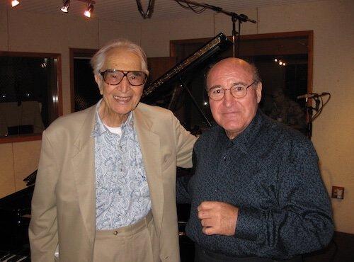 Dave Brubeck with Gunter Manchen